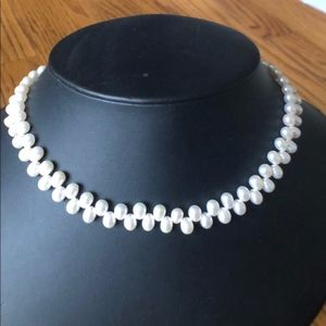 """Honora High Luster Side Drilled Pearl Strand - 18"""""""